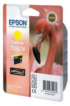 Epson T0874 - Druckerpatrone - 1 x Gelb