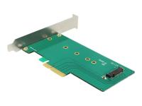PCI Express x4 Card > 1 x internal NVMe M.2 - Speicher-Controller - M.2 Card Low Profile