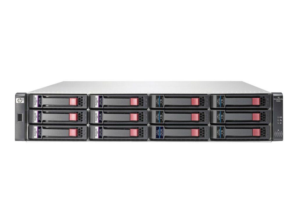 HP P2000 Dual I/O LFF Drive Enclosure (AP843B) - REFURB