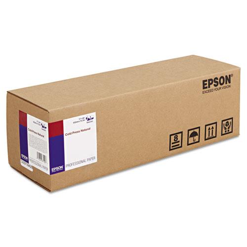 Epson Fine Art Cold Press Natural - Beidseitig beschichtetes Baumwollpapier, glatt - Natural White