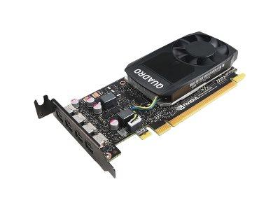 Lenovo NVIDIA Quadro P1000 - Grafikkarten - Quadro P1000 - 4 GB GDDR5 Low-Profile - 4 x Mini DisplayPort - für ThinkStation P320 30BJ (SFF)