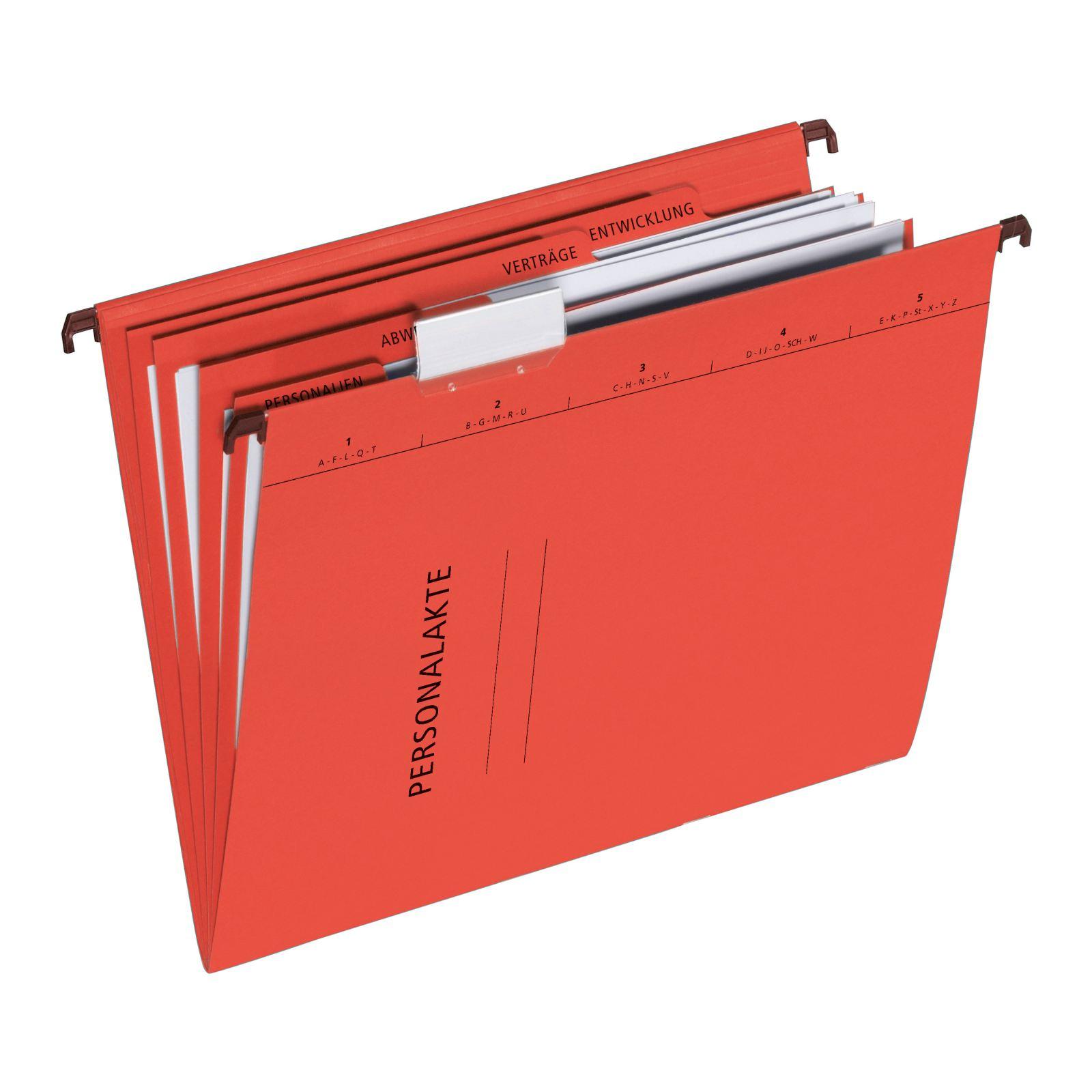 Pagna 44105-01 - Konventioneller Dateiordner - A4 - Karton - Rot - 3 Taschen - 245 mm