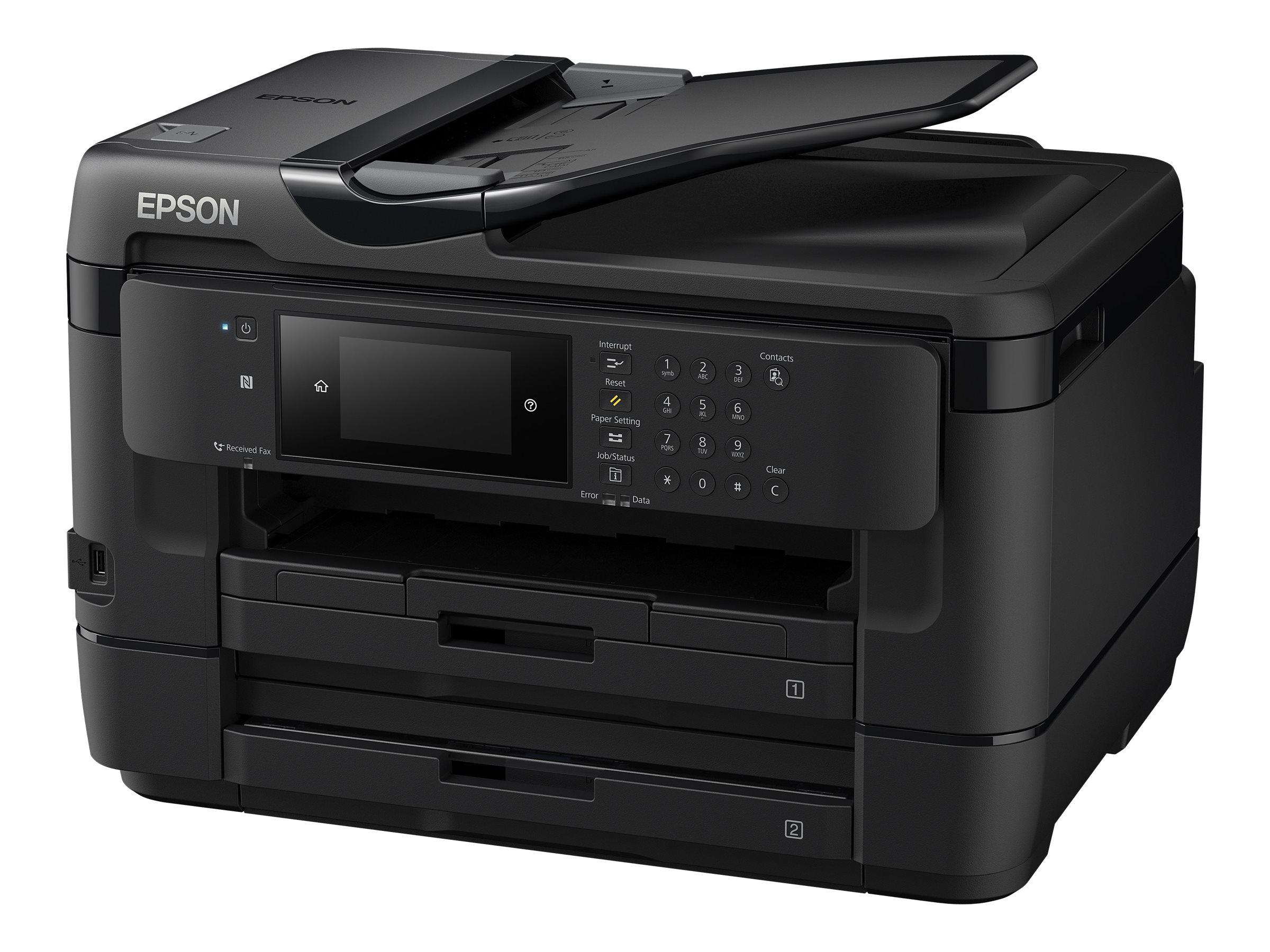 Epson WorkForce WF-7720DTWF - Multifunktionsdrucker - Farbe - Tintenstrahl - A3 (Medien)