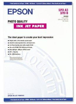 Epson Photo Quality Ink Jet Paper - Beschichtetes Fotopapier, matt - hochweiß