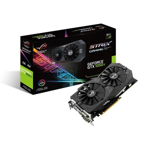ASUS GeForce Strix GTX 1050Ti O4G GAMING - Grafikkarte - PCI