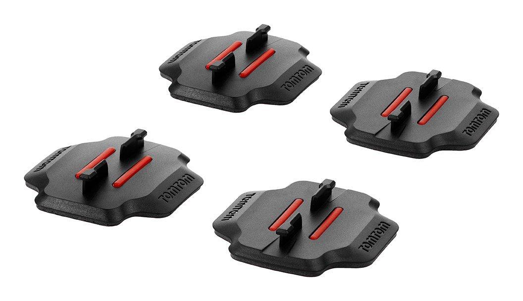 TomTom Basic Surface Mounts (2X2) - Montagezubehör für Camcorder - für TomTom Bandit