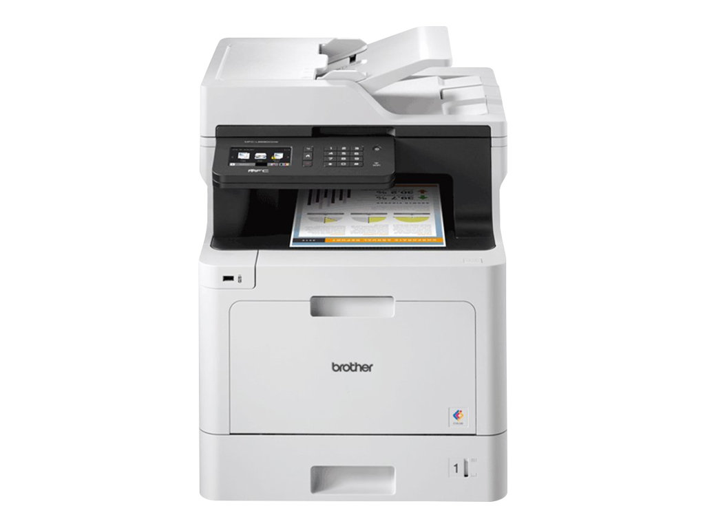 Brother MFC-L8690CDW - Multifunktionsdrucker - Farbe - Laser - A4/Legal (Medien)