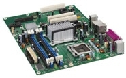 Intel Desktop Board DP965LT - Motherboard