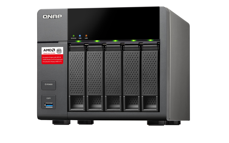 QNAP TS-563 Turbo NAS - NAS-Server - 5 Schächte