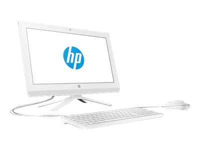 HP 20-c450ng - All-in-One (Komplettl?sung) - 1 x Celeron J4005 / 2 GHz - RAM 4 GB - HDD 1 TB - DVD-Writer - UHD Graphics