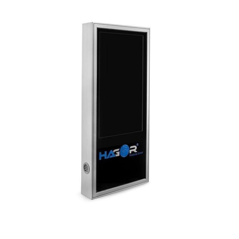 Hagor ScreenOut Pro Kiosk M - 106,7 cm (42 Zoll) - 124,5 cm (49 Zoll) - 800 x 600 mm - 600 x 800 mm