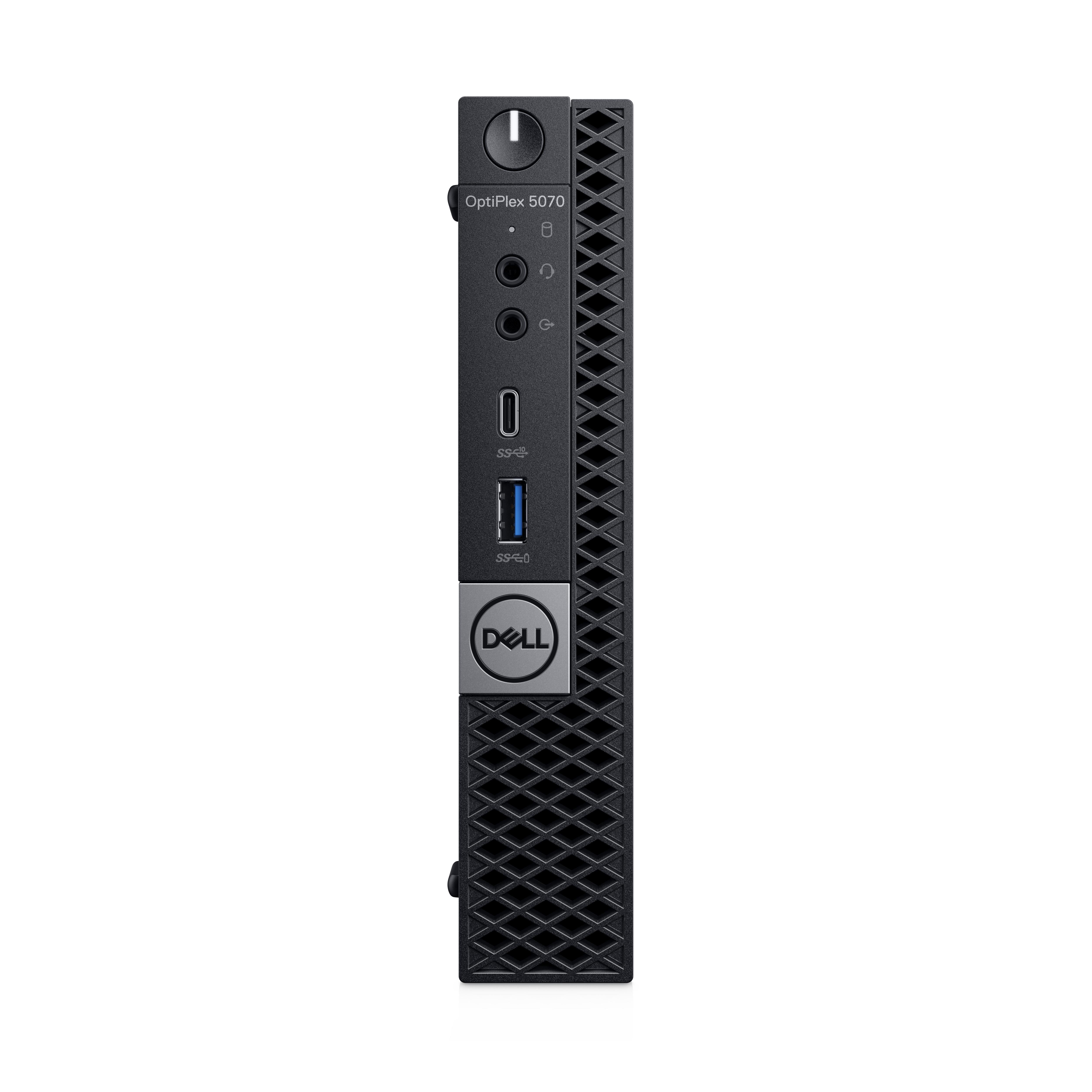 Dell Optiplex 5070 - Komplettsystem - Core i5 2,2 GHz - RAM: 8 GB DDR4 - HDD: 256 GB - UHD Graphics 600