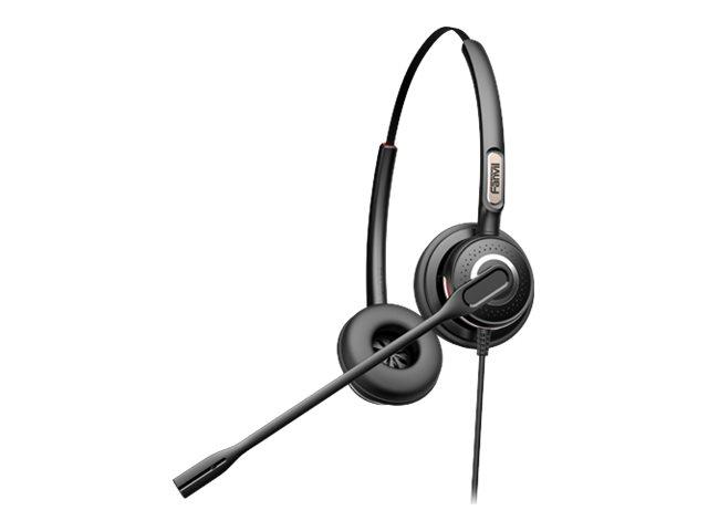 Fanvil HT202 - Headset - On-Ear - kabelgebunden - Quick Disconnect
