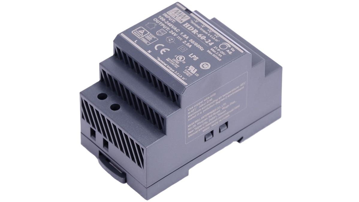Hikvision DS-KAW60-2N - Stromversorgung - Universal - Grau - Hikvision Digital Technology - 60 W - 85 - 264 V