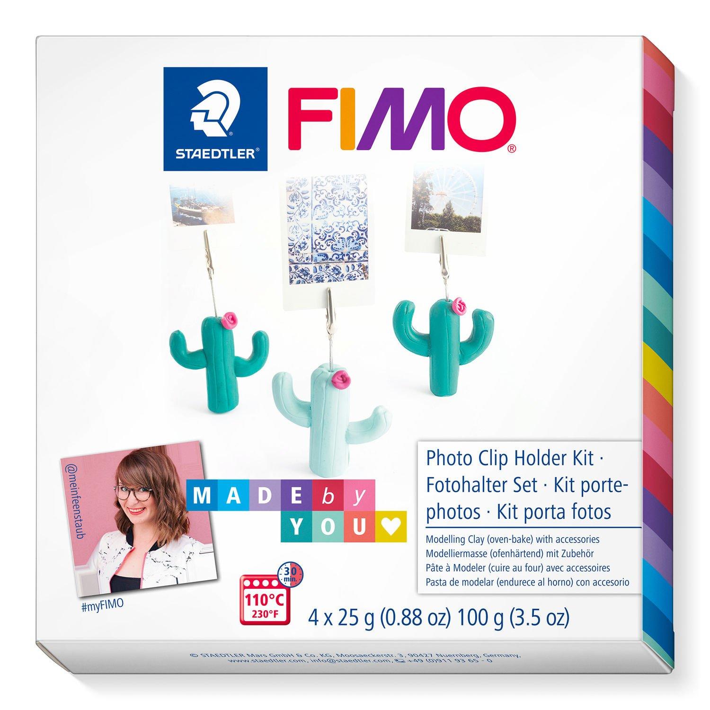 STAEDTLER FIMO 8025 DIY - Knetmasse - Beere - Grün - Mintfarbe - Erwachsene - 4 Stück(e) - 3 Farben - 110 °C