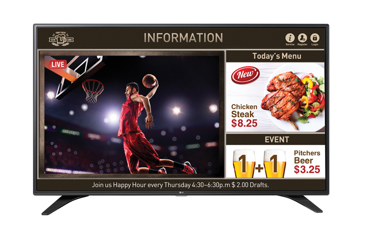 LG 55LW540S - 140 cm (55) Klasse - LW540S Series LED-TV