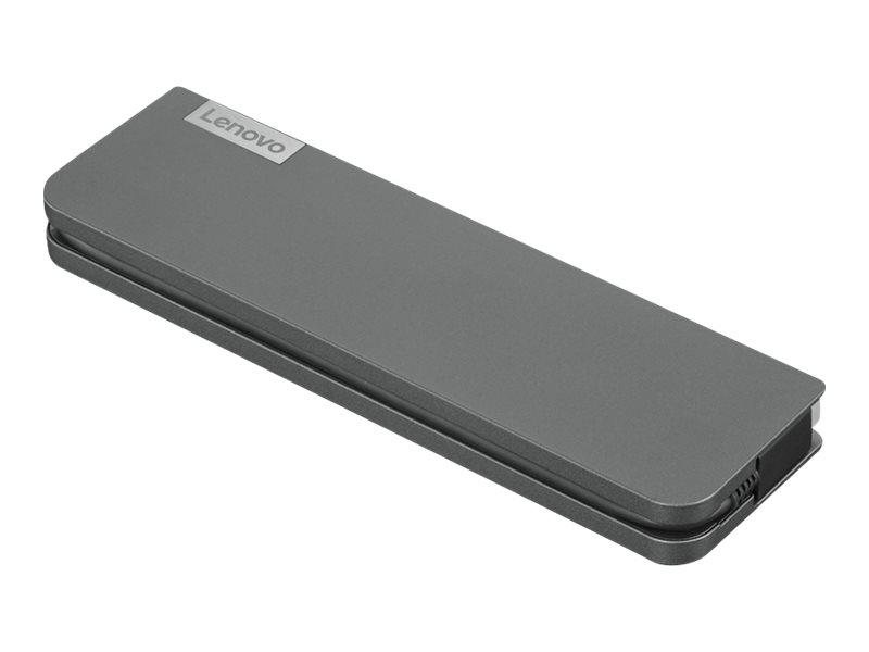 Lenovo USB-C Mini Dock - Mini-Dock - USB-C - VGA, HDMI - GigE - 65 Watt - für ThinkBook 13  14  ThinkBook Plus IML 20  ThinkPad 11e Yoga (6th Gen)