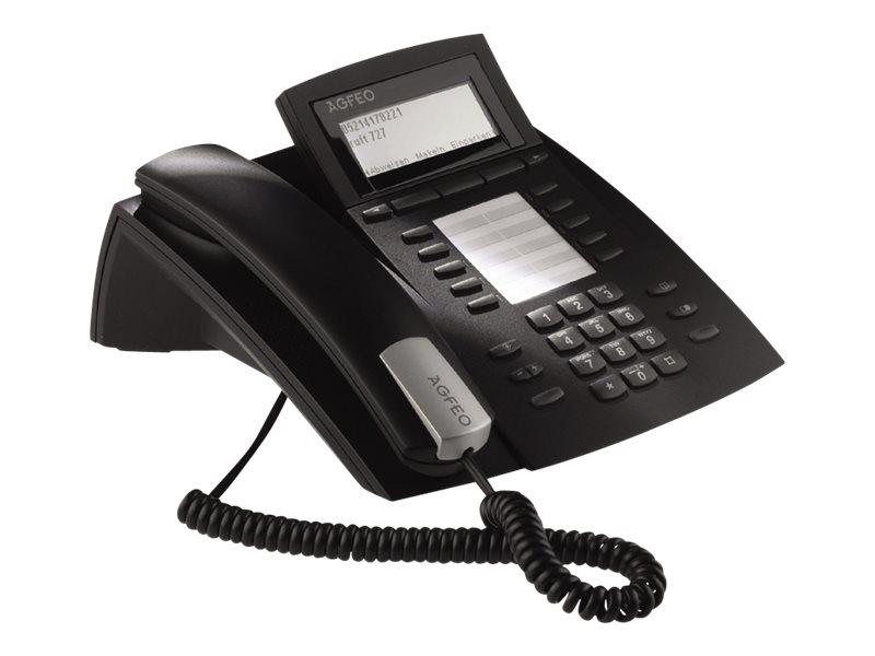 AGFEO ST 42 IP - VoIP-Telefon - Schwarz