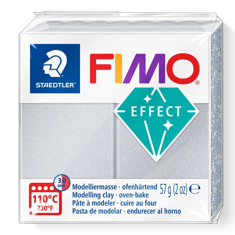 STAEDTLER FIMO 8020 - Knetmasse - Silber - Erwachsene - 1 Stück(e) - Pearl light silver - 1 Farben