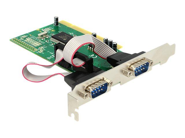 Delock PCI Card 2x Serial - Serieller Adapter