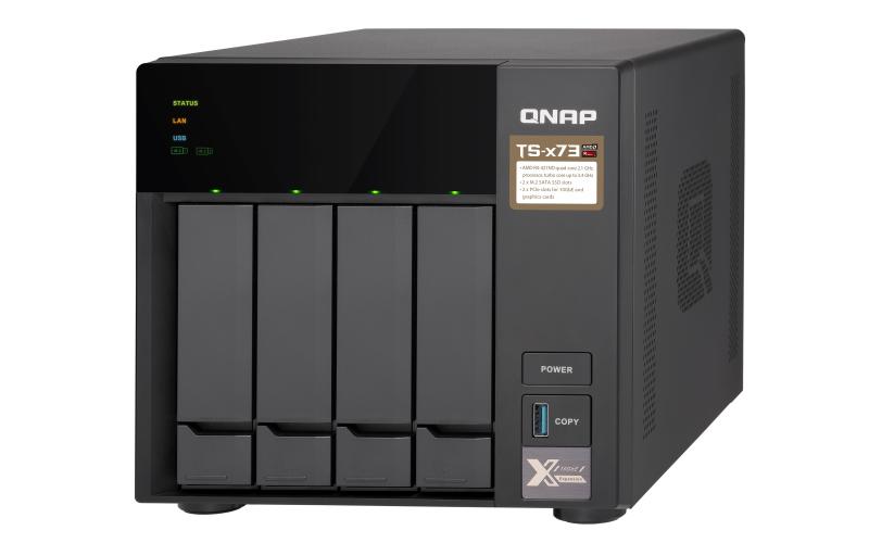 QNAP TS-473-4G - NAS-Server - 4 Schächte - 24 TB