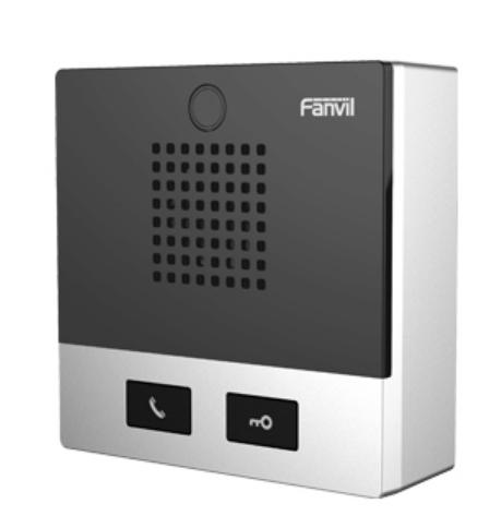 Fanvil I10D - Verkabelt - -20 - 50 °C - Schwarz - Edelstahl