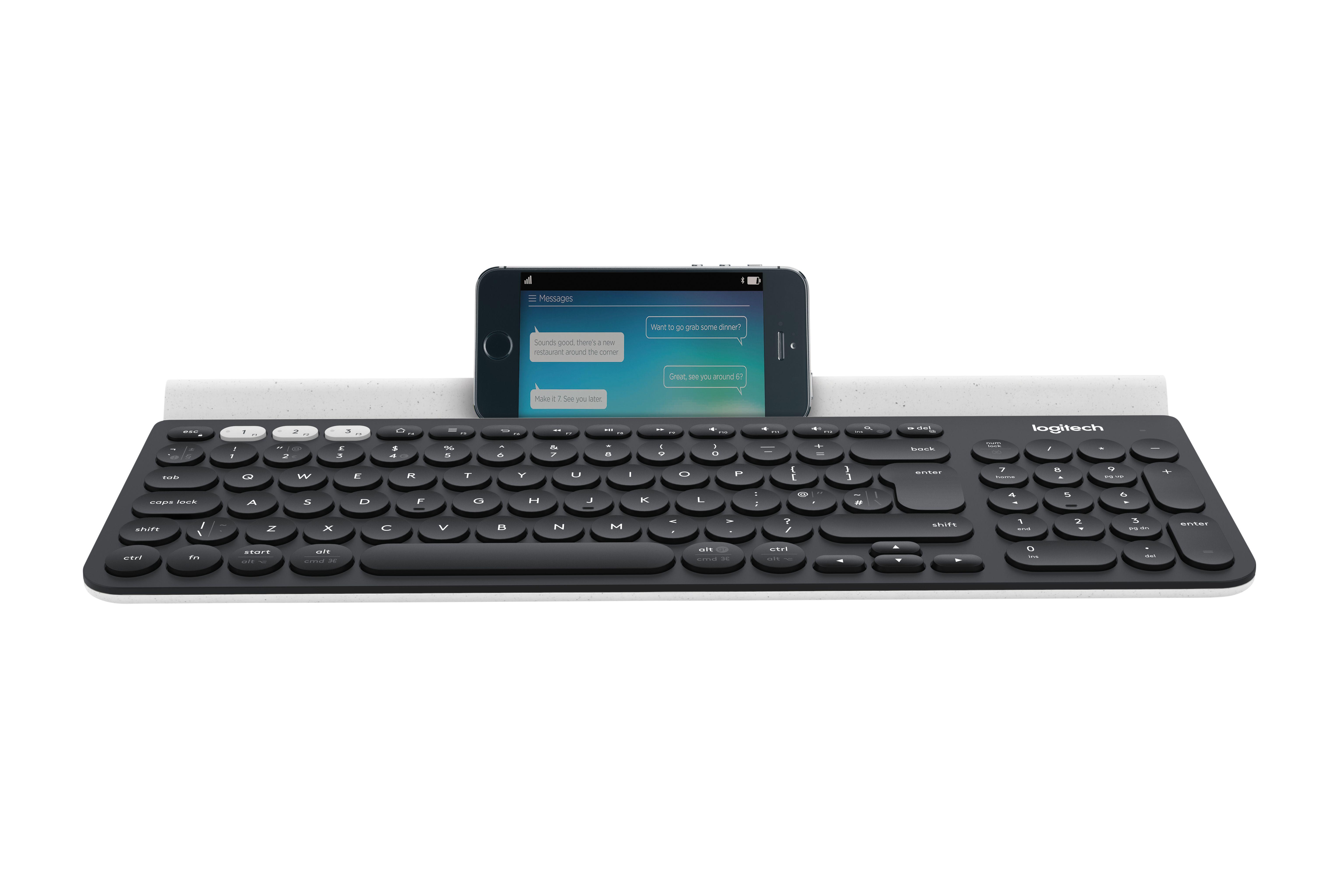 Logitech K780 Multi-Device Tastatur Trådløs Tysk