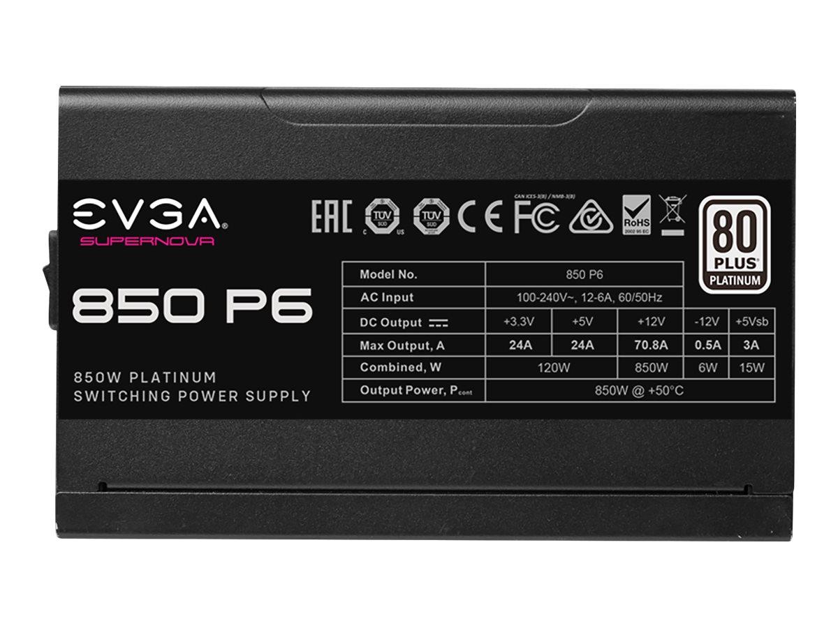 EVGA SuperNOVA 850 P6 - Netzteil (intern) - ATX / EPS