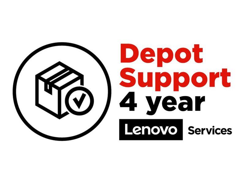 Vorschau: Lenovo Depot/Customer Carry-In Upgrade - Serviceerweiterung - Arbeitszeit und Ersatzteile (für System mit 1 Jahr Depot- oder Carry-in-Garantie)