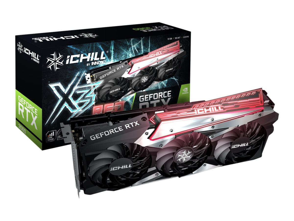 Vorschau: Inno3D GeForce RTX 3060 ICHILL X3 RED - Grafikkarten