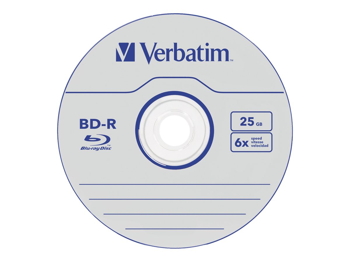 Verbatim DataLife - 5 x BD-R - 25 GB 6x - Jewel Case (Schachtel)