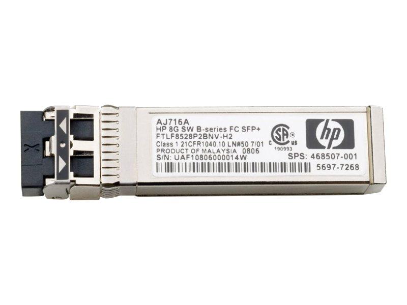 HP 8 Gb LW B-Serie, 10 km FC 1 SFP+ Transceiver(AJ717A)