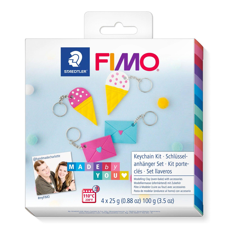 Vorschau: STAEDTLER FIMO 8025 DIY - Knetmasse - Beere - Blau - Weiß - Gelb - Erwachsene - 4 Stück(e) - 4 Farben - 110 °C