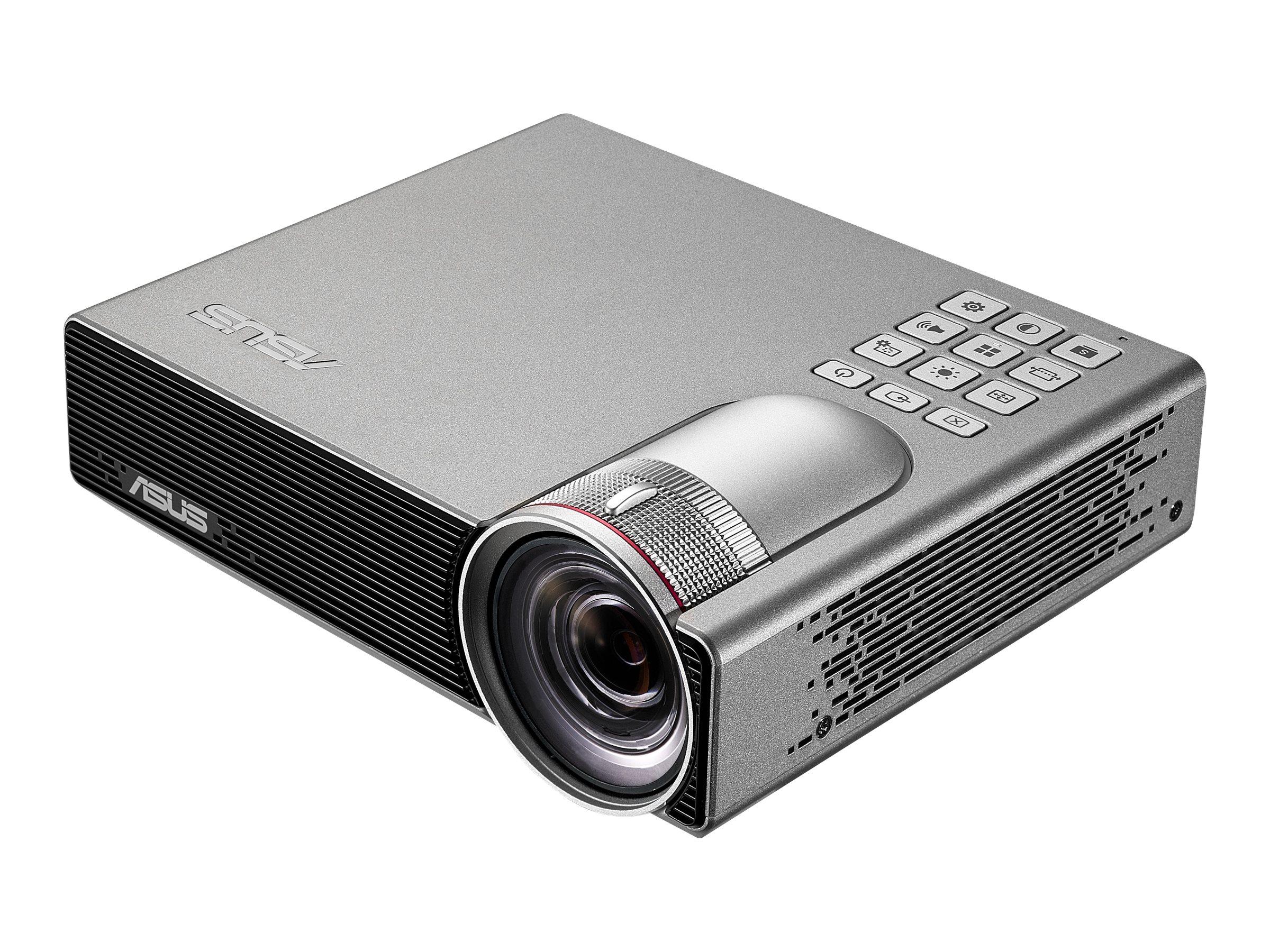 ASUS P3E - DLP-Projektor - RGB LED - 3D - 800 lm - WXGA (1280 x 800)
