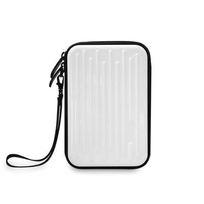 MEDIARANGE BOX996 - Beuteltasche - Nylon - Kunststoff - Schwarz - Weiß - 2.5 Zoll - Universal - Schockresistent