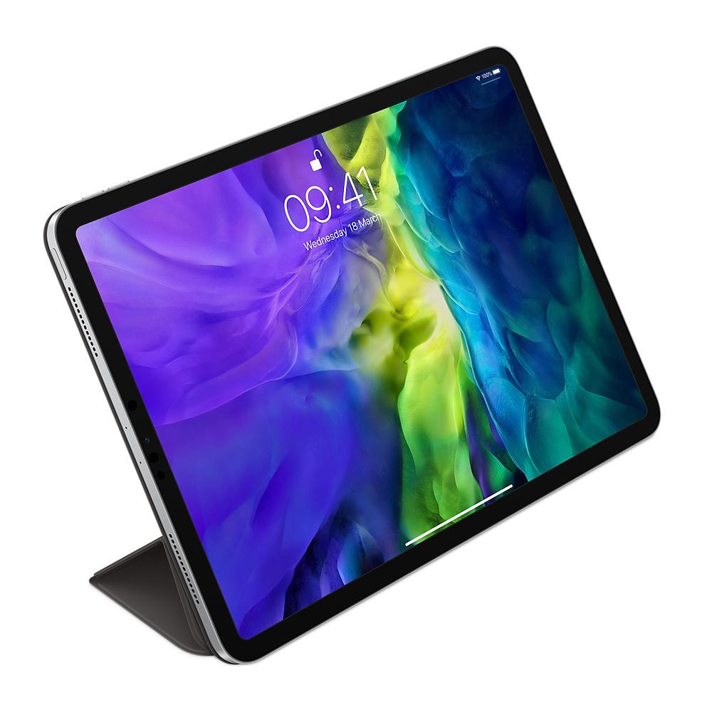 """Apple Smart Folio - Flip-Hülle für Tablet - Polyurethan - Schwarz - 11"""" - für 11-inch iPad Pro (1. Generation, 2. Generation)"""
