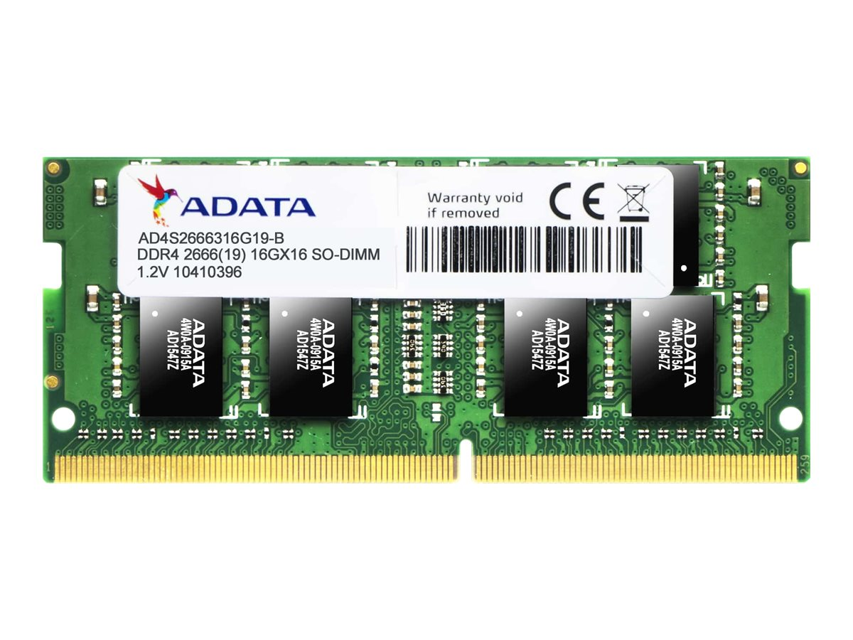 ADATA Premier Series - DDR4 - 16 GB - SO DIMM 260-PIN