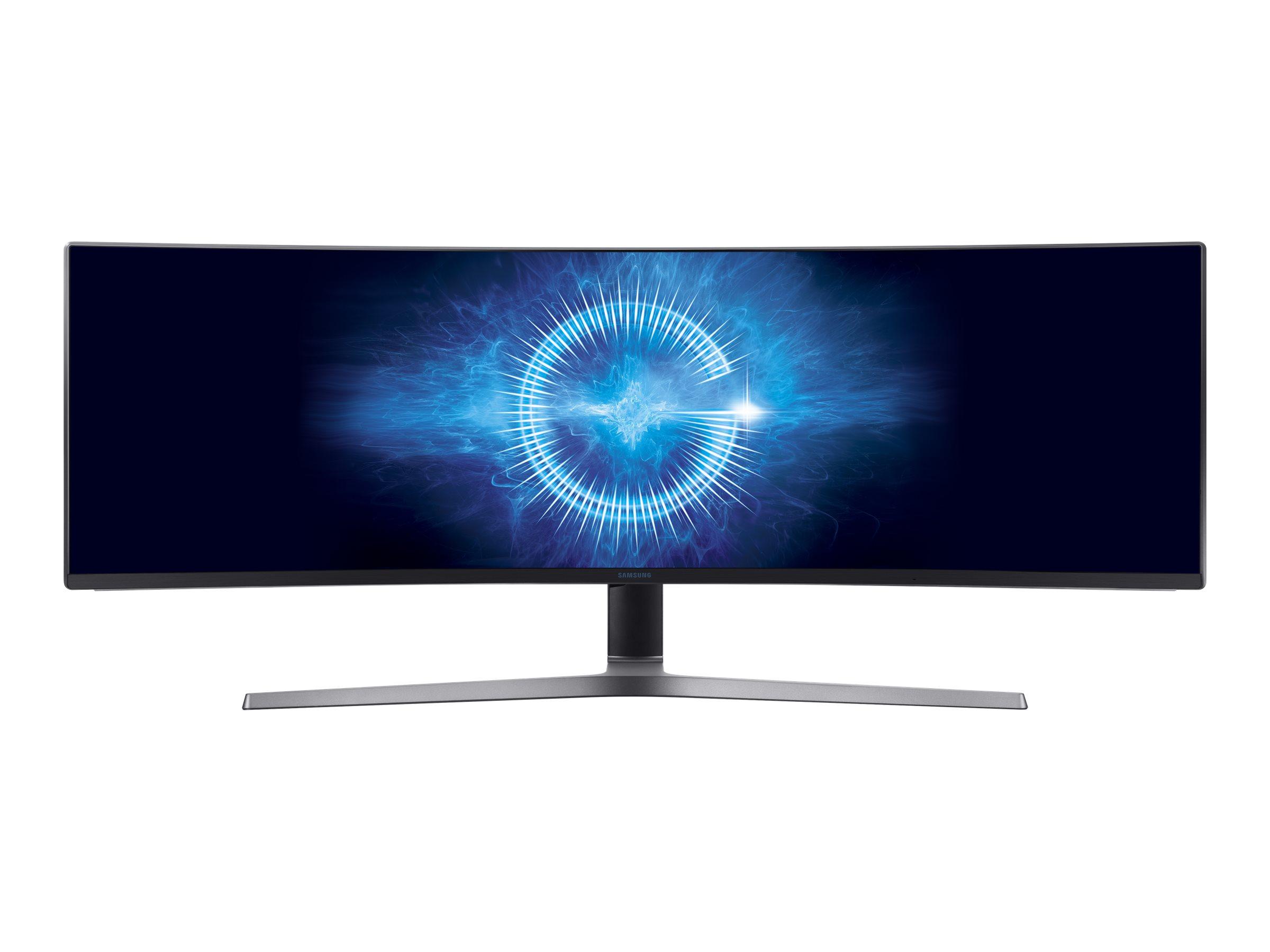 "Samsung C49HG90DMR - CHG9 Series - QLED-Monitor - gebogen - 124 cm (49"")"