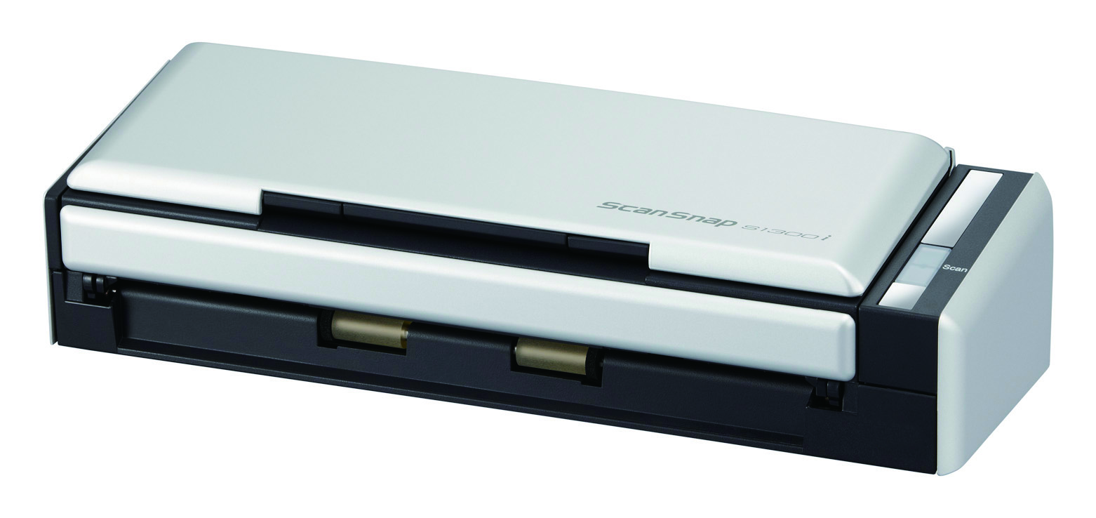 Fujitsu ScanSnap S1300i Bogendrucker 600 x 600DPI A4 Schwarz - Silber