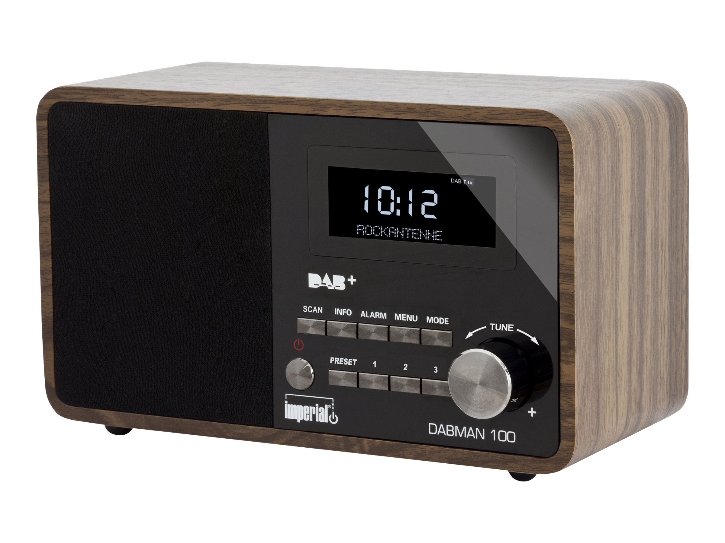 Telestar imperial DABMAN 100 - DAB-Radio - 7 Watt (Gesamt)