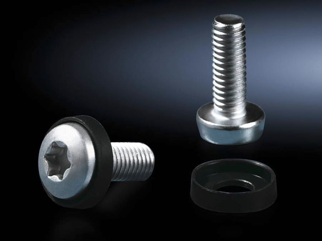 Rittal DK Multi-tooth screw M6x16 - Schrauben für Rack (Packung mit 50)