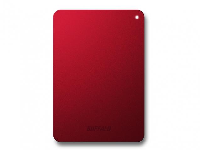 Buffalo Ministation Safe - 1TB 1000GB Rot Externe Festplatte