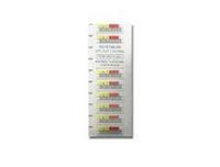 3-05400-10 Weiß Barcode-Etikett