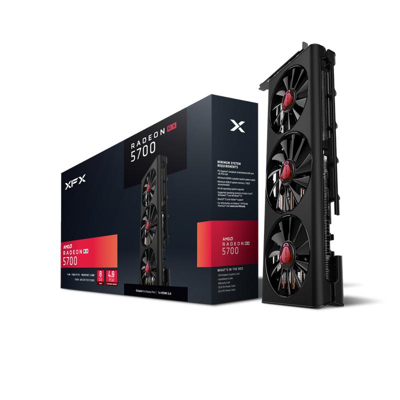 XFX Radeon RX 5700 Triple Dissipation - Grafikkarten
