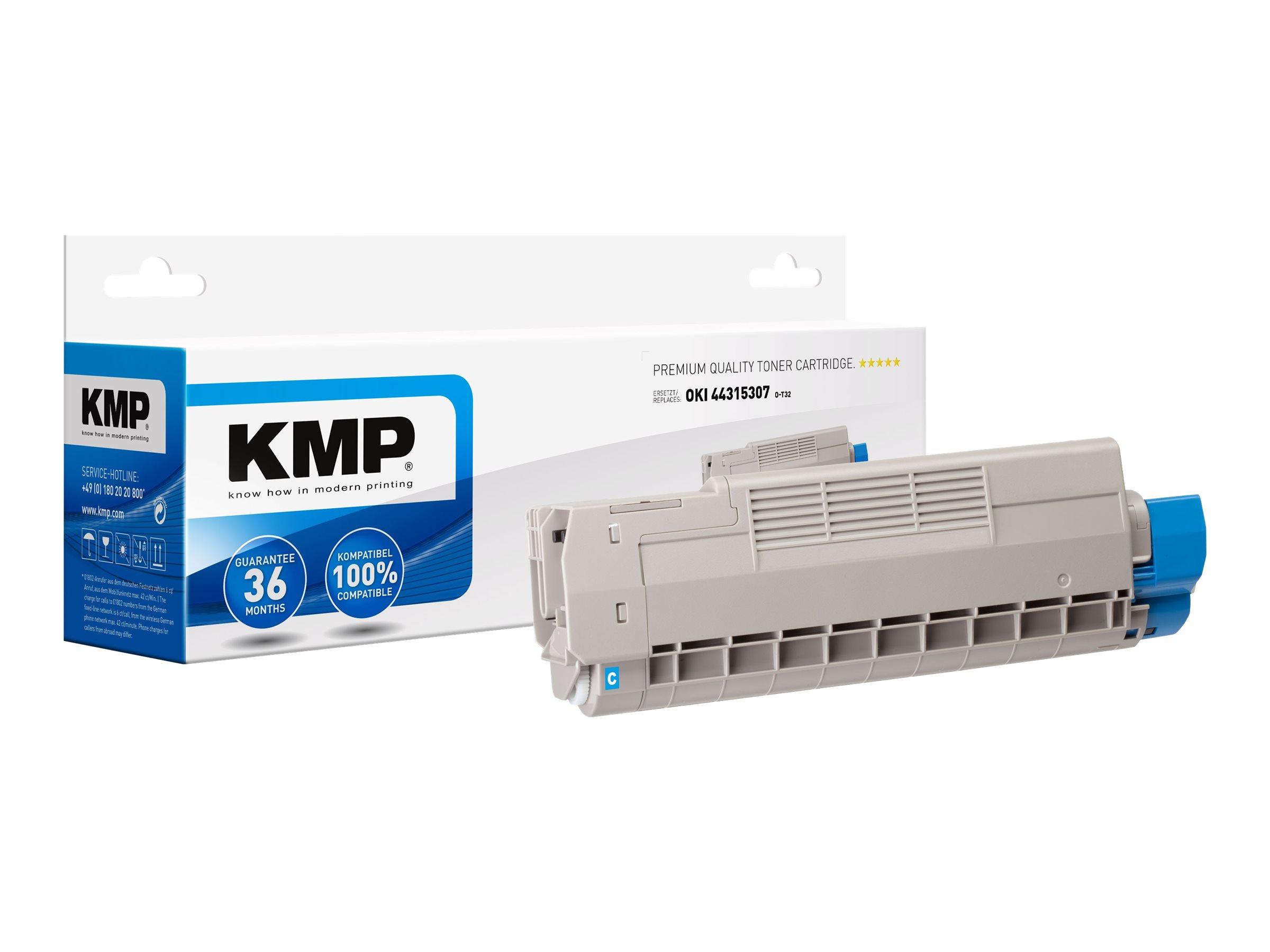 Vorschau: KMP O-T32 - Cyan - compatible - Tonerpatrone