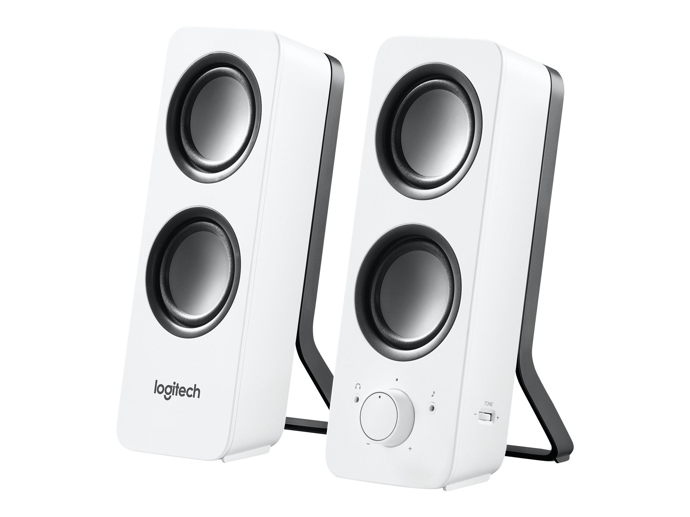 Logitech Z200 - Lautsprecher - weiß