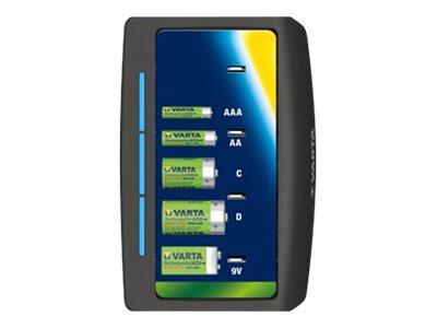 Varta Universal Charger - 5 - 8 Std. Batterieladegerät - (für 4xAA/4xAAA, 4xD, 4xC, 1x9V)