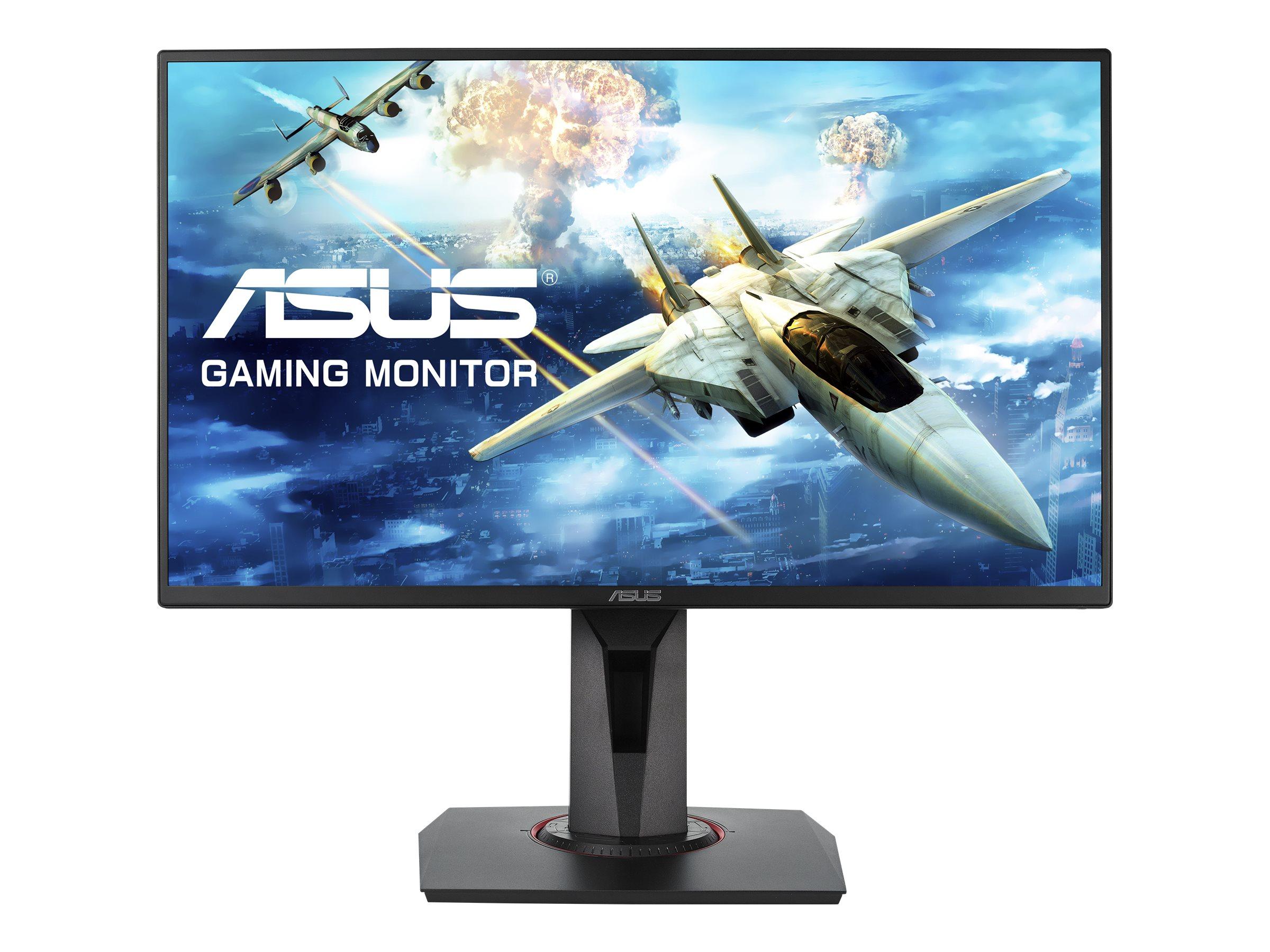 "ASUS VG258Q - LED-Monitor - 62.23 cm (24.5"") - 1920 x 1080 Full HD (1080p) TN - 400 cd/m² - 1 ms - HDMI - DVI-D - DP - Lautsprecher - Schwarz"