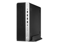 EliteDesk 705 G4 3,5 GHz AMD A PRO A10-9700 Schwarz - Silber SFF PC