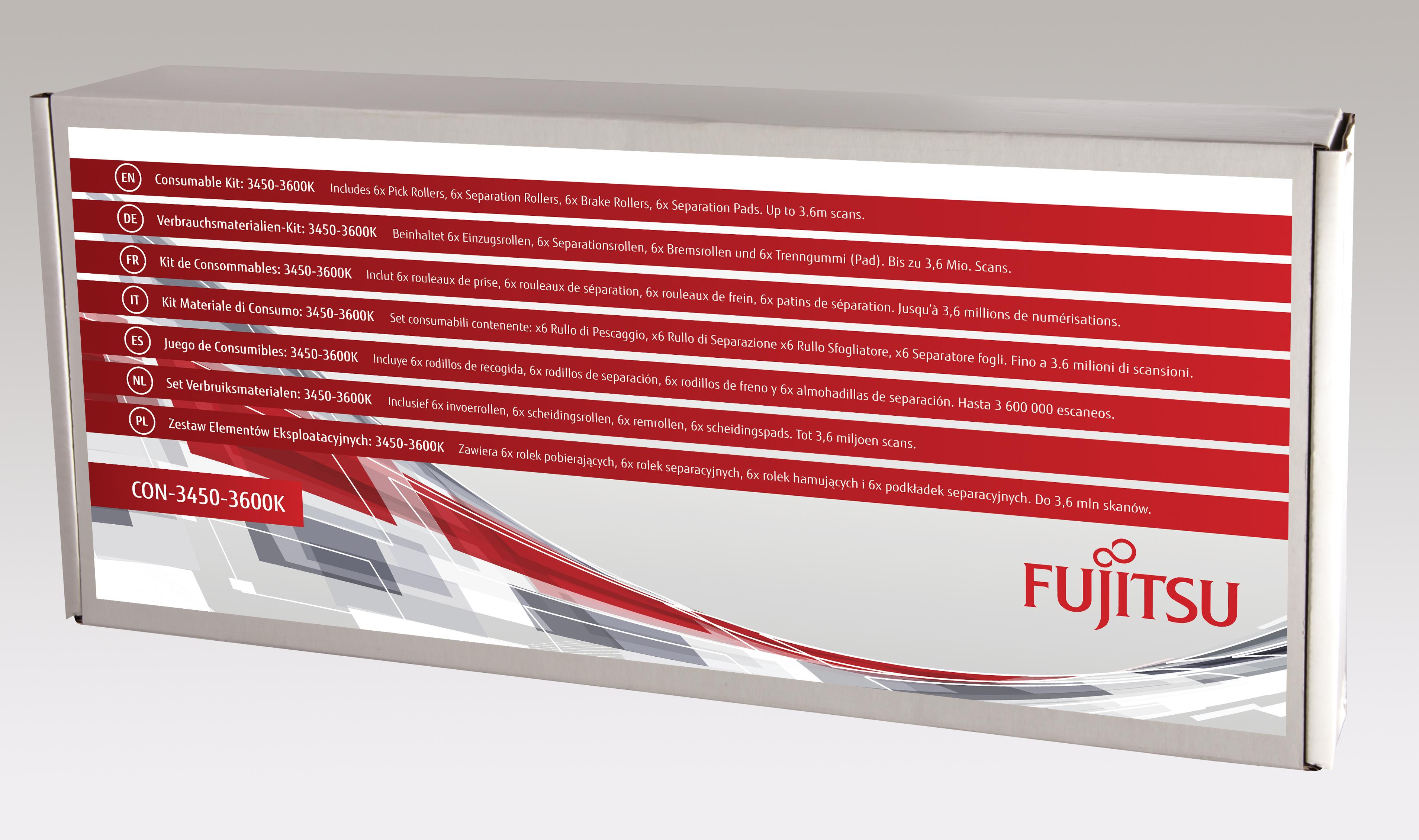 Fujitsu Consumable Kit: 3450-3600K - Scanner
